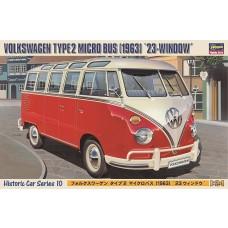 Hasegawa 1/24 1963 VW Micro Bus Plastic Model Kit