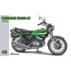 Hasegawa 1/12 1979 Kawasaki KH400A7 Plastic Model Kit