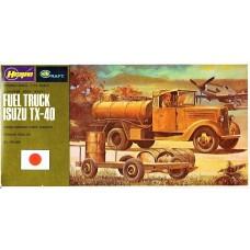 Hasegawa 1:72 Fuel Truck Isuzu TX-40 Plastic Model Kit