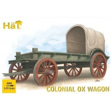 Hat 1/72 Colonial Ox Wagon Plastic Model Kit