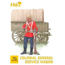 HaT 1/72 Colonial General Service Wagon Plastic Model Kit