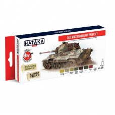 Hataka Late WWII German AFV 1943-45 Paint Set