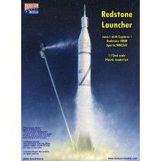 Horizon Models 1/72 Redstone Launcher Rocket Plastic Model Kit