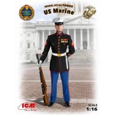 ICM 1:16 US Marine Sergeant Plastic Model Kit