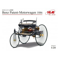 ICM 1:24 1886 Benz Patent Motorwagen 1886 Plastic Model Kit