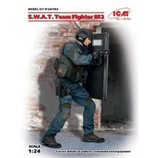 ICM 1/24 SWAT Team Fighter #2 Plastic Model Kit