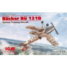 ICM Models 1/32 Bucker Bu.131B Plastic Model Kit