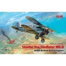 ICM 1/32 Gloster Sea Gladiator Mk. Plastic Model Kit