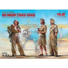 ICM Models 1/32 US WASP Figures Plastic Model Kit