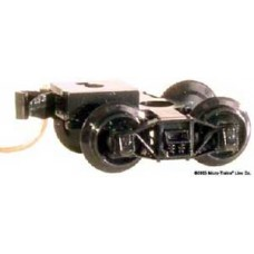 N Archar Trucks w/Extended Couplers (2)