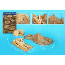 EGYPTIAN PYRAMIDS 3D PUZZLE 38