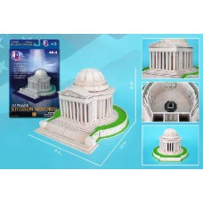 Jefferson Memorial 3D Puzzle