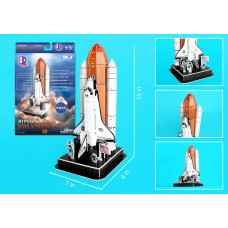 Space Shuttle 3D Puzzle On Lau