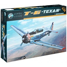 Kitty Hawk 1/32 T6G Texan Aircraft Plastic Model Kit
