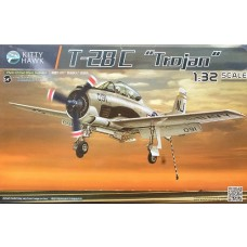 Kitty Hawk 1/32 T-28C Trojan Plastic Model Kit