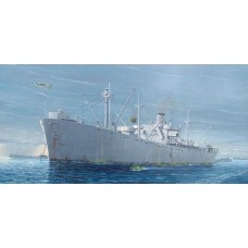 Trumpeter 1:350 SS J. O'Brien WWII Liberty Ship Plastic Model Kit