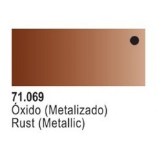 Rust Metallic Model Air Color 17ml Bottle Paint