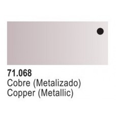 Copper Metallic Model Air Color 17ml Bottle Paint