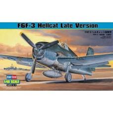 1/48 F6F-3 Hellcat Late Version Plastic Model Kit