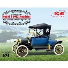 1/24 Model T 1913 Roadster Plastic Model Kit