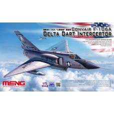 1/72 Convair F-106A Delta Dart Interceptor Plastic Model Kit