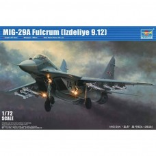 1/72 Mig-29A Fulcrum Product 9.12 Plastic Model Kit