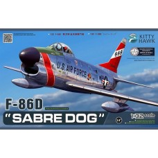 1/32 F-86D Sabre Dog Plastic Model Kit