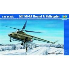 1:35 Soviet Mil Mi4A Hound A Helicopter Plastic Model Kit