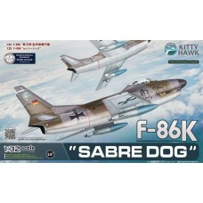 1/32 F-86K Sabre Dog Plastic Model Kit