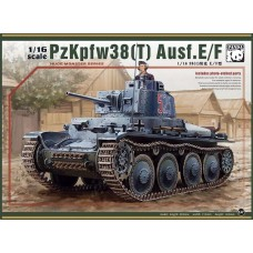 1/16 Pz.Kpfw 38(t) Ausf.E/F Plastic Model Kit