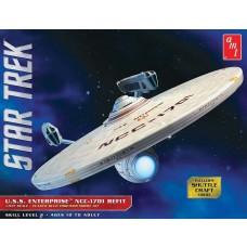 AMT 1/537 Star Trek USS Enterprise Refit Plastic Model Kit