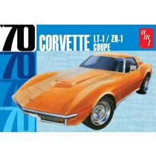 AMT 1/25 1970 Chevy Corvette Coupe Plastic Model Kit
