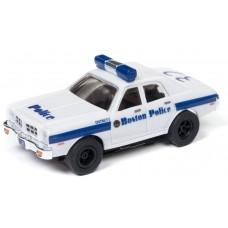 HO Slot Car Boston Police 1977 Dodge Monoco