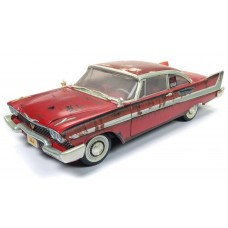 Auto World 1/18 1958 Plymouth Fury Christine Dirty Version