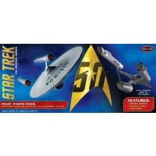 Polar Lights 1/350 Star Trek TOS U.S.S. Enterprise Pilot Parts Pack