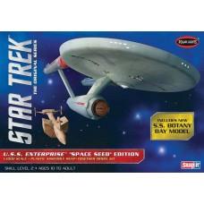 Polar Lights 1/1000 Star Trek TOS Enterprise Plastic Model Kit
