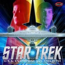Polar Lights 1/350 Star Trek USS Enterprise Refit Plastic Model Kit