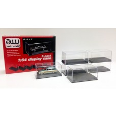 Auto World 1/64 Scale Display Case (6 pack)