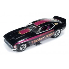 Auto World 1/18 Larry Fullerton Trojan Horse Mustang Funny Car