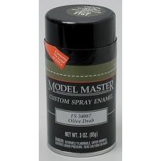 Olive Drab 3oz Enamel Spray FS34087