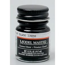 Flat Black FS37038 1/2 oz Enamel Paint