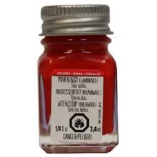 1/4oz Flat Red Enamel Model Paint