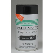 Clear Flat Finish 3oz Lacquer Spray