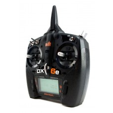 Spektrum DX6e 6 Channel DSMX Transmitter Only