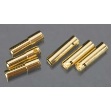 Castle Creations 4mm Bullet Connector (6)