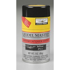 Chrysler Yellow 3oz Lacquer Spray Paint