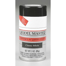 Classic White 3oz Lacquer Spray Paint