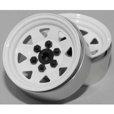 "RC4WD 6 Lug Wagon 1.9"" Steel Stamped Beadlock Wheel (4)"