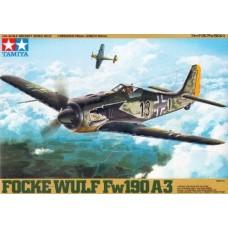 Tamiya 1:48 Focke Wulf FW190 A3 Plastic Model Kit