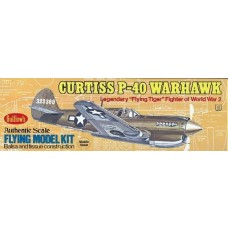 Guillows Curtiss P40 Warhawk Wooden Model Kit 501
